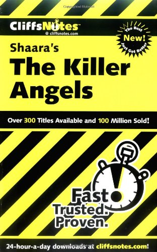 9780764585494: CliffsNotes on Shaara's The Killer Angels (Cliffsnotes Literature Guides)