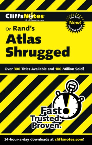CliffsNotes on Rand's Atlas Shrugged (Cliffsnotes Literature Guides) (0764585568) by Andrew Bernstein