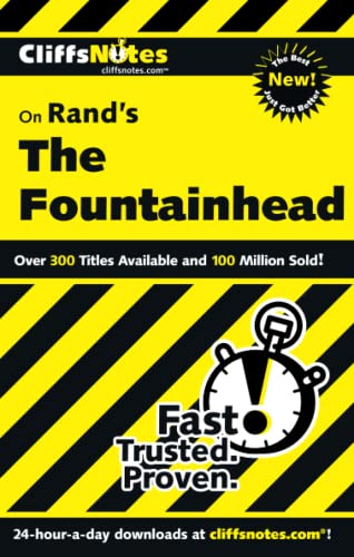 CliffsNotes on Rand's The Fountainhead (Cliffsnotes Literature Guides) (0764585584) by Bernstein, Andrew