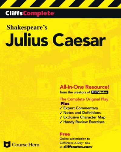 9780764585692: CliffsComplete Julius Caesar
