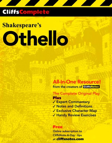 9780764585739: Othello: Complete Study Edition (Cliffs Notes)