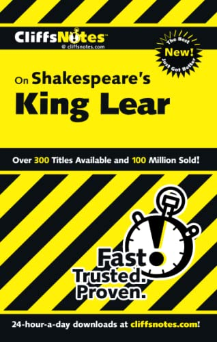 9780764585821: CliffsNotes on Shakespeare's King Lear (Cliffsnotes Literature Guides)