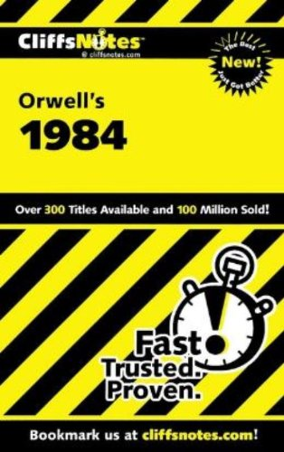 9780764585852: On Orwell's 1984 (Cliffs Notes)