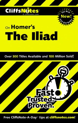 9780764585869: CliffsNotes on Homer's Iliad (Cliffsnotes Literature Guides)
