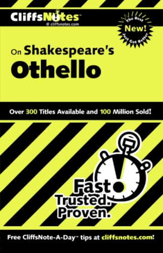9780764585876: CliffsNotes on Shakespeare's Othello (Cliffsnotes Literature Guides)
