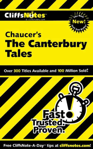 9780764585906: CliffsNotes on Chaucer's The Canterbury Tales (Cliffsnotes Literature Guides)