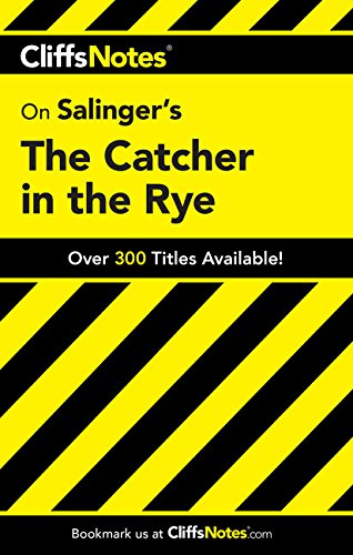 9780764585913: CliffsNotes on Salinger's The Catcher in the Rye (Cliffsnotes Literature Guides)