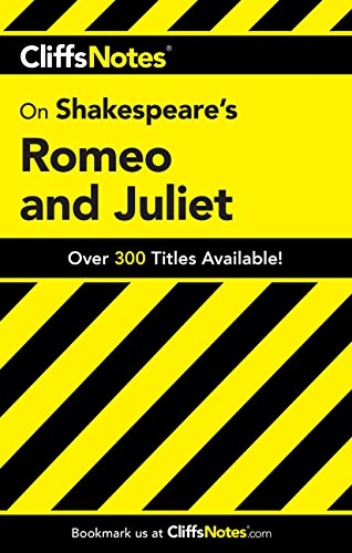 9780764585920: CliffsNotes on Shakespeare's Romeo and Juliet (Cliffsnotes Literature)