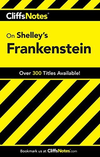 9780764585937: CliffsNotes on Shelley's Frankenstein (Cliffsnotes Literature Guides)