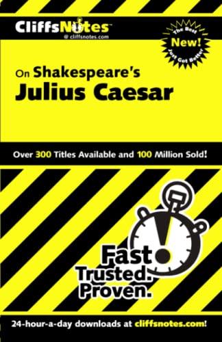 9780764585951: Julius Caesar (Cliffs Notes)