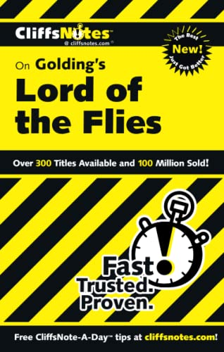 9780764585975: CliffsNotes on Golding's Lord of the Flies (Cliffsnotes Literature)
