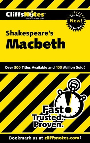 9780764586026: CliffsNotes on Shakespeare's Macbeth (Cliffsnotes Literature)