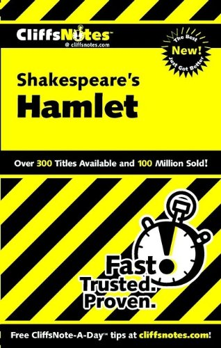 9780764586033: Shakespeare's Hamlet (Cliffs Notes)