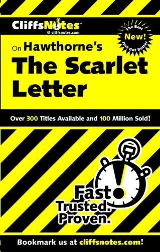 9780764586057: CliffsNotes on Hawthorne's The Scarlet Letter (Cliffsnotes Literature Guides)