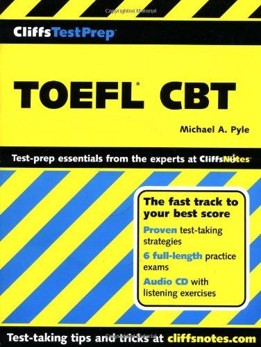 9780764586095: TOEFL CBT (CliffsTestPrep)