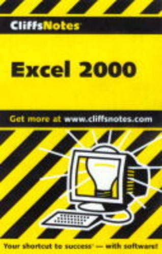 9780764586279: Creating Spreadsheets With Excel 2000 (Cliffs Notes S.)