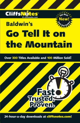9780764586491: CliffsNotes Baldwin's Go Tell It on the Mountain