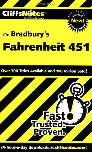 CliffsNotes on Bradbury's Fahrenheit 451: Hiner, Kristi