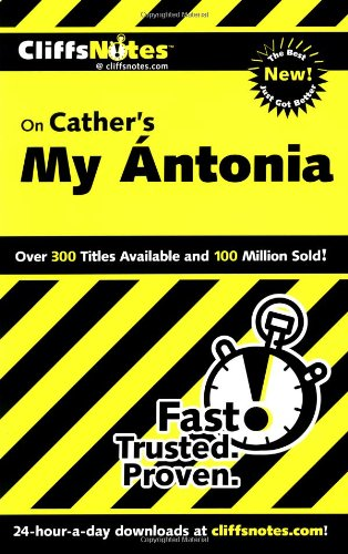 9780764586514: On Cather's My Antonia (Cliffs Notes)
