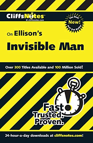 9780764586569: On Ellison's The Invisible Man (Cliffs Notes)