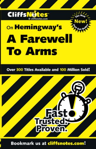 9780764586590: Cliffsnotes on Hemingway's Farewell to Arms
