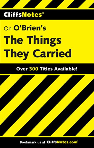 9780764586682: Cliffsnotes O'Brien's the Things They Carried