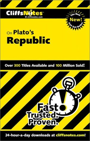 9780764586705: Cliffsnotes Plato's Republic