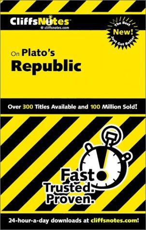 9780764586705: Plato's Republic (Cliffs Notes)