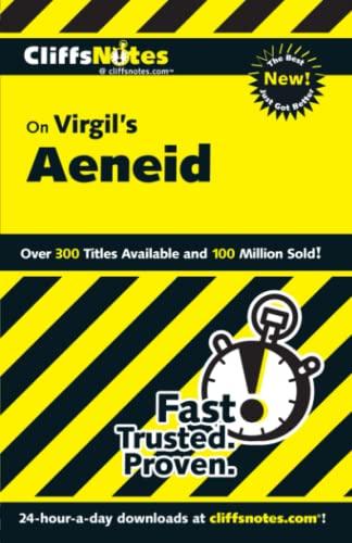 9780764586804: CliffsNotes on Virgil's Aeneid