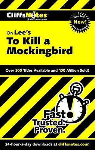 9780764586965: Cliffsnotes to Kill a Mockingbird