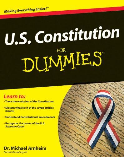 9780764587801: U.S. Constitution For Dummies