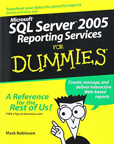 9780764589133: SQL Server 2005 Reporting Services for Dummies