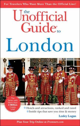 9780764595370: The Unofficial Guide to London (Unofficial Guides)