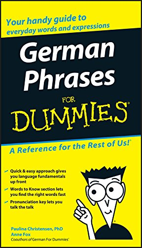 9780764595530: German Phrases For Dummies