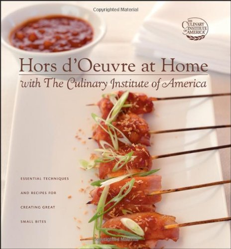 9780764595622: Hors d'Oeuvre at Home with The Culinary Institute of America