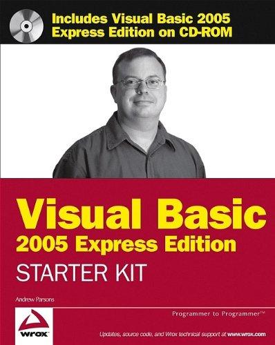 9780764595738: Wrox's Visual Basic 2005 Express Edition Starter Kit (Programmer to Programmer)