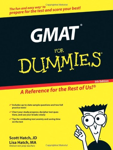 9780764596537: The Gmat for Dummies