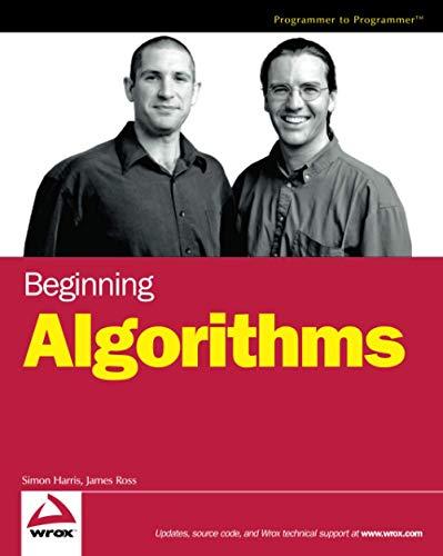 9780764596742: Beginning Algorithms