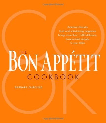 9780764596865: The Bon Appetit Cookbook