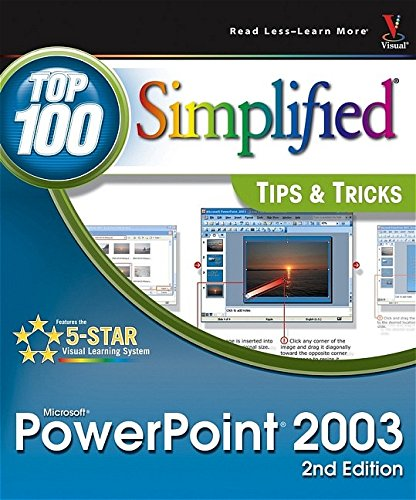 9780764597824: PowerPoint 2003: Top 100 Simplified Tips & Tricks