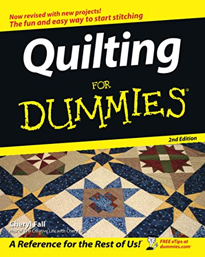 Quilting For Dummies 2nd edition