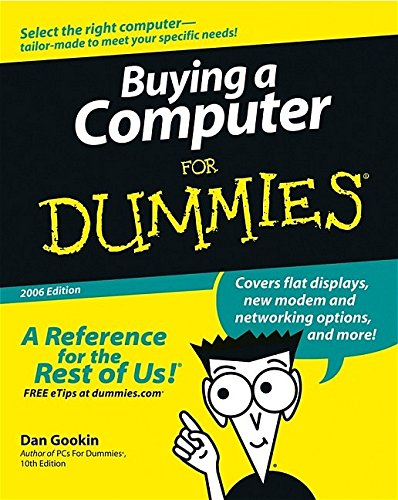 9780764598180: Buying a Computer For Dummies (For Dummies (Computers))