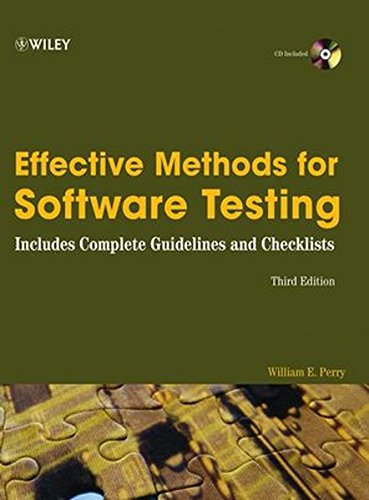 9780764598371: Effective Methods for Software Testing: Includes Complete Guidelines, Checklists, and Templates