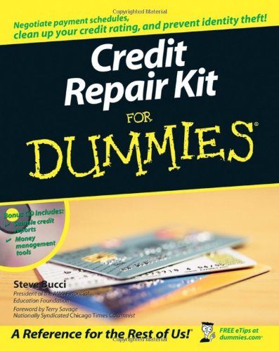 9780764599088: Credit Repair Kit For Dummies