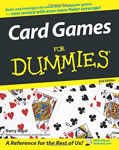 9780764599101: Card Games for Dummies