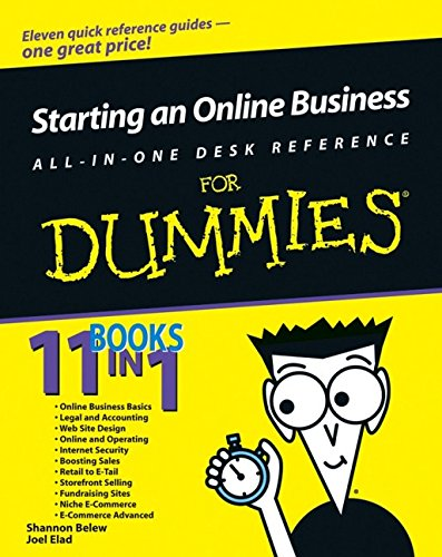 9780764599293: Starting an Online Business All-in-One Desk Reference For Dummies (For Dummies (Lifestyles Paperback))