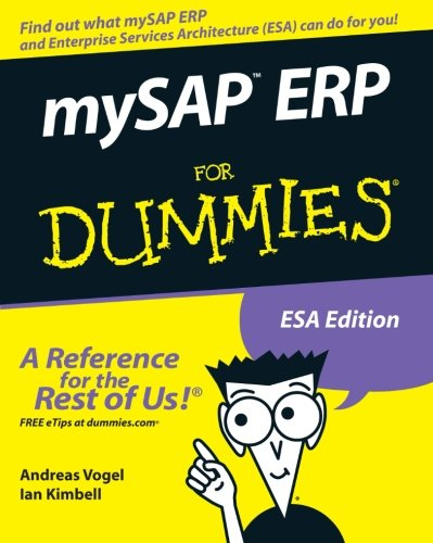 mySAP ERP For Dummies (076459995X) by Andreas Vogel; Ian Kimbell