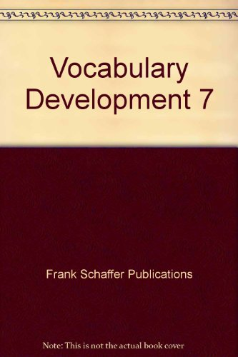 9780764700323: Vocabulary Development 7