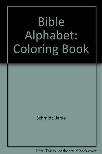 9780764700675: Bible Alphabet: Coloring Book