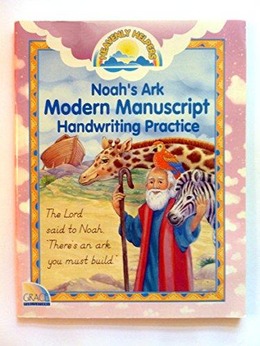 9780764700866: Noah's Ark Modern Manuscript Handwriting Practice